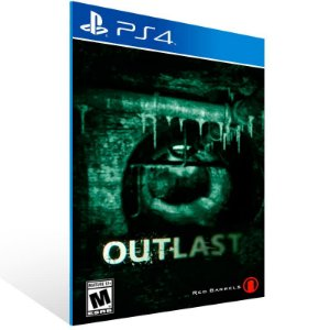 Outlast - Ps4 Psn Mídia Digital
