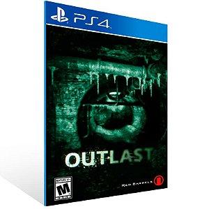 Outlast - Ps4 Psn Mídia Digital
