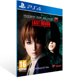 Dead Or Alive 5 Last Round - Ps4 Psn Mídia Digital