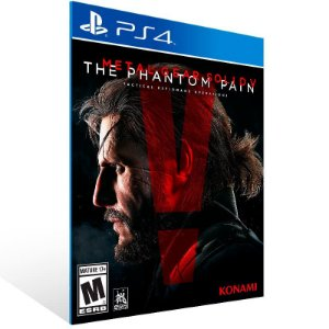 Metal Gear Solid 5 The Phantom Pain - Ps4 Psn Mídia Digital
