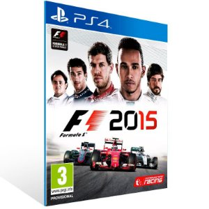 F1 2015 - Ps4 Psn Mídia Digital