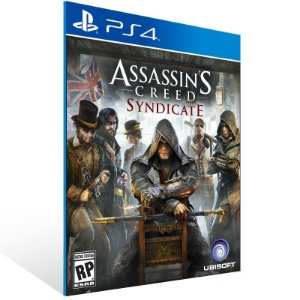 Assassins Creed Syndicate - Ps4 Psn Mídia Digital