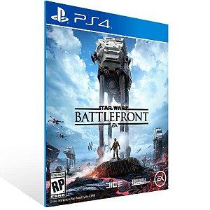 Star Wars Battlefront - Ps4 Psn Mídia Digital