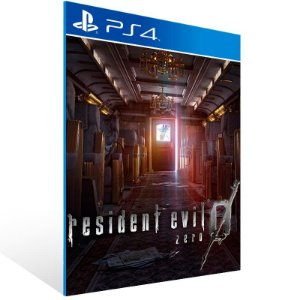 Resident Evil 0 - Ps4 Psn Mídia Digital
