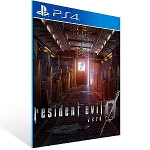 Resident Evil 0 - Ps4 Psn Mídia Digital