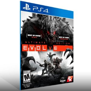 Evolve Ultimate Edition - Ps4 Psn Mídia Digital