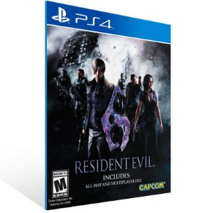 Resident Evil 6 - Ps4 Psn Mídia Digital