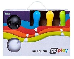 Jogo de Boliche Brinquedo Infantil Go Play Kit com 6 Pinos