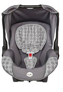 Bebê Conforto Upper Cinza Tutti Baby