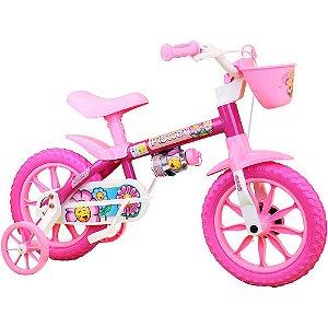Bicicleta Infantil Menina ARO 12 Flower 11 Nathor