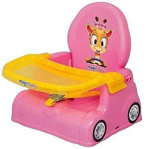 Cadeira Refeição Portátil Papinha Para Bebê Girafa Magic Toys
