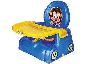 Cadeira Refeição Portátil Papinha Para Bebê Leão Magic Toys
