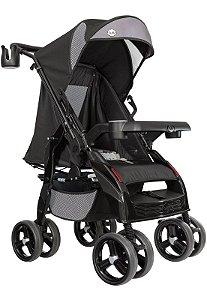 Carrinho de Bebê e Berço Upper Preto Tutti Baby
