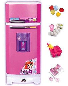 Geladeira Infantil Grande Magica Super Sai Água Magic Toys