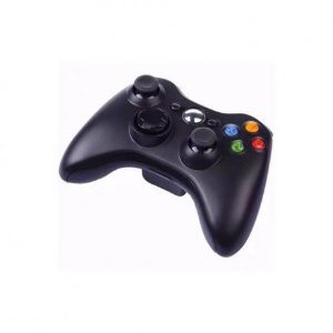 Controle Joystick Compatível Xbox 360 com Fio - Preto
