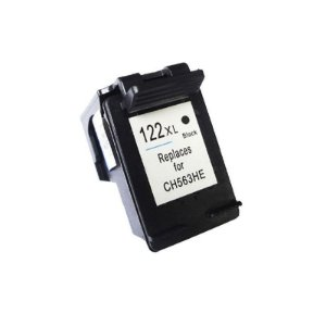 Cartucho Compatível HP 122XL Preto Microjet 12ml