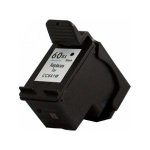 Cartucho de Tinta Compatível HP 60XL Preto Microjet 13ml