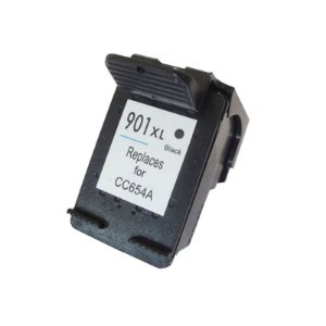 Cartucho Compatível HP 901XL Preto 14ml CC653 CC654 J4580 J4680