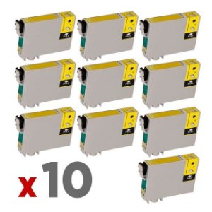 Kit 10 Cartuchos Epson TO47420 Amarelo 17ml no Atacado T0474