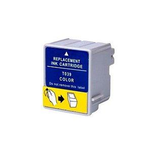 Cartucho Epson TO39020 Colorido Compativel 30ml C41 C43 C45 T039