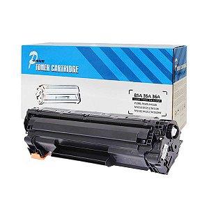 Kit com 2 Toner Compatível Universal HP CE285A CE278A CB435A CB436A 35A 36A 85A 78A 2K - PREMIUM