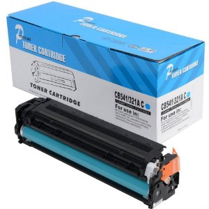 Toner Compatível HP 125A 128A 131A CB541A CE321A CF211A Ciano - PREMIUM