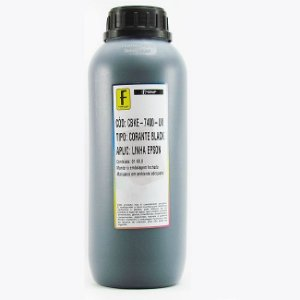 Tinta Formulabs Epson EPS7400 Preta Corante UV 1 Litro