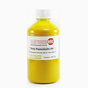 Tinta Inktec Pigmentada Epson E0007-01LY Amarela 500ml Bulk Ink transfer