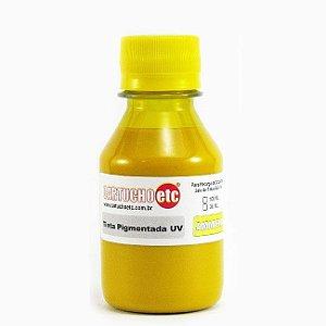 Tinta Inktec Pigmentada Epson E0007-01LY Amarela 100ml Bulk ink Transfer