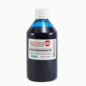 Tinta Inktec Pigmentada Epson E0007-01LC Ciano | Azul 250ml Bulk Ink Transfer