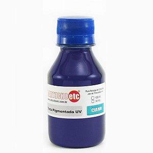 Tinta Inktec Pigmentada Epson E0007-01LC Ciano | Azul 100ml Bulk Ink Transfer