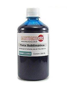 Tinta Sublimatica Inktec | Mizink UV Ciano Claro Epson para Transfer e Sublimação 1 Litro