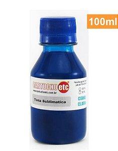 Tinta Sublimatica Inktec Ciano Claro Epson Sublimação 100ml
