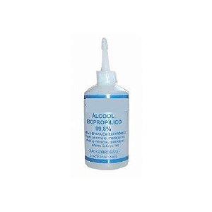 Alcool Isopropilico para Limpeza de Circuitos e Contatos dos Cartuchos 100ml