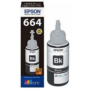 Refil Tinta Epson T664120AL Preto L110 L200 L210 L355 T664 Original