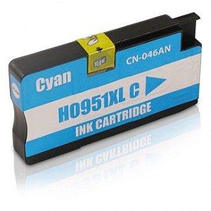 Cartucho Hp 951 XL Ciano 8100 8600 951XL CN046A Compativel