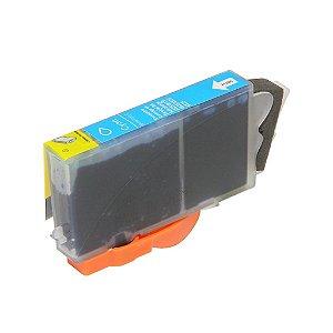 Cartucho Compatível HP 670XL Ciano 4615 4625 5525