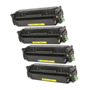 Kit 4 Toner Compatível HP 312A CF380A CF381A CF382A CF383A M476 M476NW