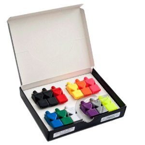 Apito Fox 40 Pearl - Caixa com 12 Apitos Coloridos