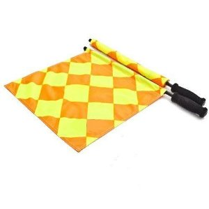 Bandeira Quadriculada para Arbitro Fluorescente