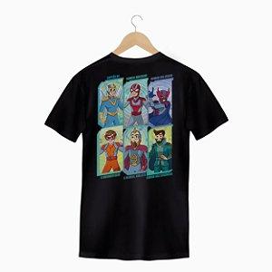 Camiseta Heroís da Qualidade