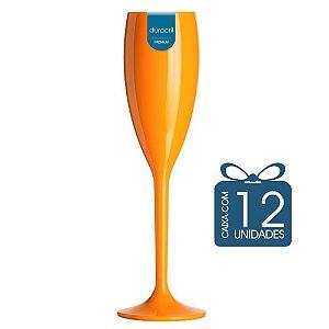 12 Taças Champagne 160 ml Laranja