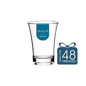 48 Copos Tequila 50 ml Transparente