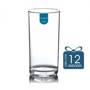12 Copos Liverpool 380 ml Transparente