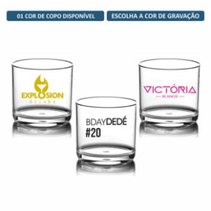 Kit Copos Whisky 320ml Personalizados