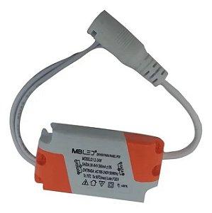 DRIVER P/ LUM. LED IP20 12-24W - MB REF-P22001
