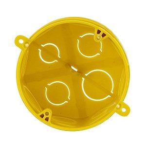 Caixa 4X4 Octagonal Amarela - Tigre