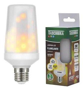Lampada Led Flame Ambar E27 5W - Tashibra