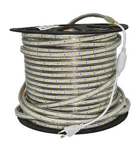 FITA LED 5050 220V IP 65 14,4W 6500K REF 9429 GAYA