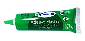 ADESIVO PVC 75G BISNAGA PL AMANCO